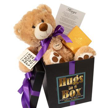 The Great Gifts List-Hugs in a Box